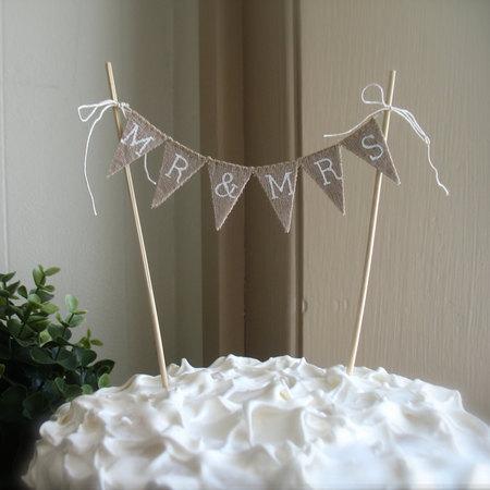 bunting_wedding_cake_topper