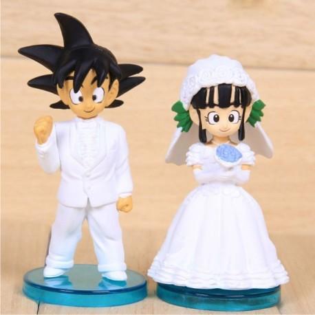 figuras-goku-y-chichi-novios-dragon-ball